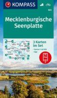KP-865 Mecklenburgische seenplatte 1:50.000 (set v 3 ktn.) 9783991212959  Kompass Wandelkaarten Kompass Duitsland  Wandelkaarten Mecklenburg-Vorpommern