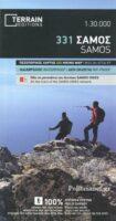 TM-331  Samos 1:30.000 9786185160166  Terrain Maps Northern Aegean Islands  Wandelkaarten Egeïsche Eilanden