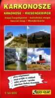 Karkonosze Riesengebirge / Reuzengebergte   wandelkaart  1:50.000 9788361157250  Eko-Graf Mapy turystyczna  Wandelkaarten Polen