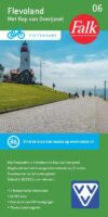 FFK-06  Flevoland | VVV fietskaart 1:50.000 9789028704190  Falk Fietskaarten met Knooppunten  Fietskaarten Flevoland en het IJsselmeer, Kop van Overijssel, Vecht & Salland