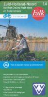 FFK-14 Zuid Holland noord | VVV fietskaart 1:50.000 9789028704350  Falk Fietskaarten met Knooppunten  Fietskaarten Den Haag, Rotterdam en Zuid-Holland