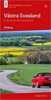 SE-2  Västra Svealand 1:250.000 9789113105987  Kartförlaget - Lantmäteriet Bil- och Turistkarta  Landkaarten en wegenkaarten Zuid-Zweden