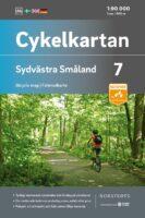 NC-07  Zuidwest Smaland fietskaart 1:90.000 9789113106137  Norstedts Cykelkartan Fietskaarten Zweden  Fietskaarten Zuid-Zweden