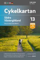 NC-13  Västergötland fietskaart 1:90.000 9789113106199  Norstedts Cykelkartan Fietskaarten Zweden  Fietskaarten Zuid-Zweden