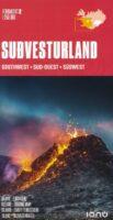 wegenkaart  Zuidwest-IJsland FK2 1:250.000 9789979675020  Landmaelingar Islands Ferdakort 1:250.000  Landkaarten en wegenkaarten IJsland