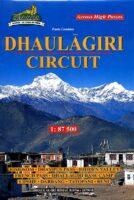 Dhaulagiri Circuit 1:87.500 Nepa Map DHAULAGIRI  Himalayan MapHouse Wandelkaarten Nepal  Wandelkaarten Nepal