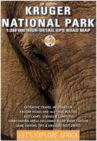 Kruger National Park Map kaart 1:280.000 9780958470162  InfoMap   Landkaarten en wegenkaarten Zuid-Afrika
