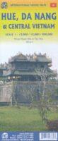 Central Vietnam, Danang and Hue   landkaart, autokaart 9781771293389  ITM   Landkaarten en wegenkaarten Vietnam