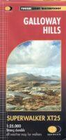 wandelkaart Galloway Hills 1:25..000 Superwalker 9781851376070  Harvey   Wandelkaarten Zuid-Schotland