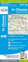 wandelkaart 3010-SB Le Chesne, Raucourt-et-Flaba 1:25.000 9782758541677  IGN IGN 25 Champagne / Ardennes  Wandelkaarten Champagne, Franse Ardennen