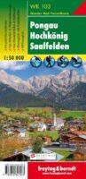 WK-103  Pongau,Hochkönig,Saalfelden wandelkaart 1:50.000 9783850847063  Freytag & Berndt WK 1:50.000  Wandelkaarten Salzburger Land & Stiermarken
