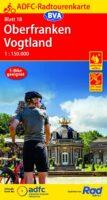 ADFC-18 Oberfranken/Vogtland | fietskaart 1:150.000 9783969900635  ADFC / BVA Radtourenkarten 1:150.000  Fietskaarten Franken, Nürnberg, Altmühltal, Sachsen
