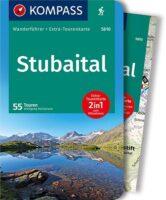 wandelgids Stubaital Kompass Wanderführer 9783990449080  Kompass   Wandelgidsen Tirol