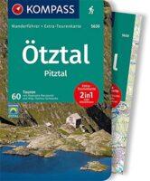 wandelgids Ötztal & Pitztal Kompass Wanderführer 5630 9783991210405  Kompass   Wandelgidsen Tirol