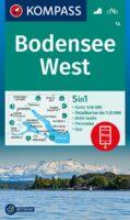wandelkaart KP-1a Bodensee West | Kompass 9783991212126  Kompass Wandelkaarten Kompass Bodensee / Schw. Alb  Wandelkaarten Bodenmeer, Schwäbische Alb