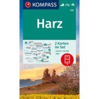 KP-450 Harz 1:50.000 9783991212270  Kompass Wandelkaarten Kompass Harzgebergte  Wandelkaarten Harz