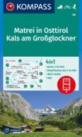 wandelkaart KP-46 Matrei (Osttirol)-Venedigergruppe | Kompass 9783991212515  Kompass Wandelkaarten Kompass Oostenrijk  Wandelkaarten Osttirol