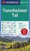 KP-04 Tannheimer Tal   Kompass wandelkaart 9783991212539  Kompass Wandelkaarten Kompass Oostenrijk  Wandelkaarten Tirol