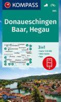 wandelkaart KP-895 Donaueschingen/Baar/Hegau | Kompass 9783991212768  Kompass Wandelkaarten Kompass Bodensee / Schw. Alb  Wandelkaarten Bodenmeer, Schwäbische Alb