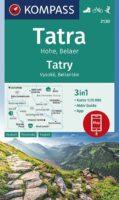 KP-2130 Hohe Tatra   Kompass wandelkaart 9783991212836  Kompass Wandelkaarten   Wandelkaarten Slowakije