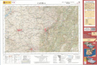 Hoja 928 Topografische wandelkaart omgeving Cazorla 1:50.000 9788441646582  CNIG Spanje 1:50.000  Wandelkaarten Andalusië