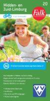 FFK-20  Midden- en Zuid-Limburg | VVV fietskaart 1:50.000 9789028704534  Falk Fietskaarten met Knooppunten  Fietskaarten Maastricht en Zuid-Limburg