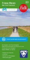 FFK-03  Friese meren (met Zuid-Friesland) | VVV fietskaart 1:50.000 9789028704541  Falk Fietskaarten met Knooppunten  Fietskaarten Friesland
