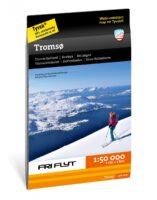 wandelkaart omgeving Tromsø Tur- og toppturkart  1:50.000 9789188779229  Calazo   Wandelkaarten Noors Lapland