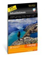 wandelkaart Jotunheimen 1:50.000 9789188779625  Calazo   Wandelkaarten Midden-Noorwegen