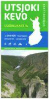 Utsjoki Kevo 1:100.000 9789522666772  Genimap Oy Wandelkaarten Finland  Wandelkaarten Fins Lapland