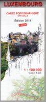wegenkaart  - overzichtskaart Luxemburg :100.000 LUX1010019  Le Gouvernement du Grand-Duché   Landkaarten en wegenkaarten Luxemburg