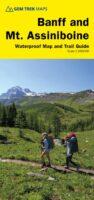 Banff + Mt.Assiniboine 1:100.000 9781895526981  Gem Trek Publishing Wandelkaarten Canada  Wandelkaarten West-Canada, Rockies