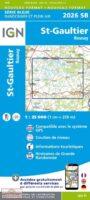 SB-2026SB St. Gaultier / Rosnay gps | wandelkaart 1:25.000 9782758534129  IGN IGN 25.000 Loire & Centre  Wandelkaarten Loire & Centre