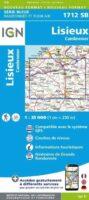 SB-1712SB   wandelkaart omg. Lisieux 1:25.000 9782758535478  IGN Serie Bleue 1:25.000  Wandelkaarten Normandië
