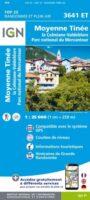 wandelkaart 3641ET Moyenne Tinée 1:25.000 9782758545729  IGN IGN 25 Franse Alpen/ zuidhelft  Wandelkaarten Mercantour, Alpes-Maritimes