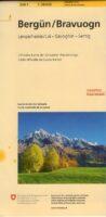 258T  Bergün [2019] 9783302302584  Bundesamt / Swisstopo SAW 1:50.000  Wandelkaarten Graubünden