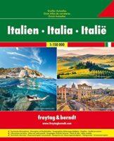 Italië Superatlas 1:150.000 9783707917932  Freytag & Berndt Wegenatlassen  Wegenatlassen Italië