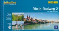 Bikeline Rhein-Radweg 2: Basel - Mainz | fietsgids 9783850009577  Esterbauer Bikeline  Fietsgidsen, Meerdaagse fietsvakanties Baden-Württemberg