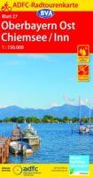 ADFC-27 Oberbayern Ost, Chiemsee, Inn | fietskaart 1:150.000 9783870739270  ADFC / BVA Radtourenkarten 1:150.000  Fietskaarten Beierse Alpen