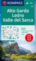 KP-096  Alto Garda, Val-di-Ledro   Kompass wandelkaart 1:25.000 9783991211310  Kompass Wandelkaarten Kompass Italië  Wandelkaarten Gardameer
