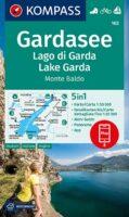 KP-102 Gardameer e.o.   Kompass wandelkaart 9783991211334  Kompass Wandelkaarten Kompass Italië  Wandelkaarten Gardameer