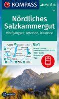 KP-18 Nördliches Salzkammergut   Kompass wandelkaart 9783991212614  Kompass Wandelkaarten Kompass Oostenrijk  Wandelkaarten Salzburger Land & Stiermarken