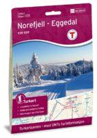 UG-2525  Norefjell - Eggedal | topografische wandelkaart 1:50.000 7046660025253  Nordeca / Ugland Turkart Norge 1:50.000  Wandelkaarten Zuid-Noorwegen