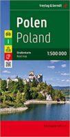 Polen   autokaart, wegenkaart 1:500.000 9783707901801  Freytag & Berndt   Landkaarten en wegenkaarten Polen