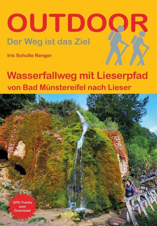 wandelgids Wasserfallweg mit Lieserpfad von Bad Münstereifel nach Lieser 9783866866898  Conrad Stein Verlag   Wandelkaarten Eifel