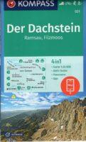 wandelkaart KP-031 Dachstein, Filzmoos, Ramsau, Schladming   Kompass 9783990442814  Kompass Wandelkaarten Kompass Oostenrijk  Wandelkaarten Salzburger Land & Stiermarken