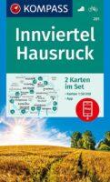 wandelkaart KP-201  Innviertel, Hausrück, Passau | Kompass 9783991212591  Kompass Wandelkaarten Kompass Oostenrijk  Wandelkaarten Oberösterreich, Niederösterreich, Burgenland