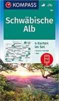 wandelkaart KP-767 Schwäbische Alb | Kompass 9783991212805  Kompass Wandelkaarten Kompass Bodensee / Schw. Alb  Wandelkaarten Bodenmeer, Schwäbische Alb