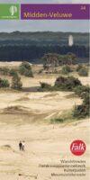 SBB-24  Midden-Veluwe | wandelkaart 1:25.000 9789028704510  Staatsbosbeheer SBB kaart 1:25.000  Wandelkaarten Arnhem en de Veluwe