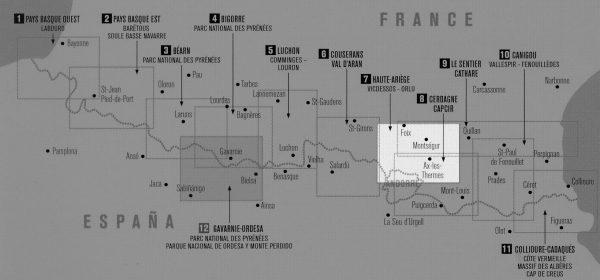 RP-07  Haute Ariège, Foix 1:50.000 9782344006276  Rando Editions Randonnées Pyrénéennes  Wandelkaarten Franse Pyreneeën